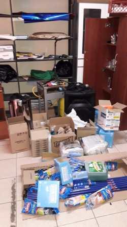 Robo Liceo Bicentenario en toque de queda 3