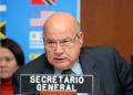 """""""Tengo mi compromiso en la OEA hasta mayo de 2015"""", insitió Insulza"""