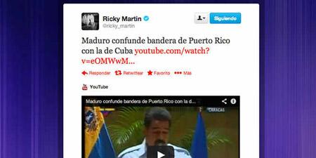 En el audiovisual se observa a Maduro durante el acto de entrega del premio Rómulo Gallegos