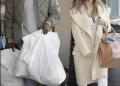 Kim Kardashian optó por salir sin maquillaje durante su paseo de compras a Sports Limited en Woodland Hills