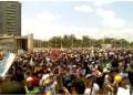"""""""Te queremos Venezuela, te queremos de verdad"""", los estudiantes salieron del Parque Miranda y se dirigieron hacia Petare"""