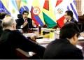 Maduro recibió a los cancilleres que conforman la Unión de Naciones Suramericanas (Unasur) en el Palacio de Miraflores