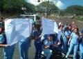 Por más de dos horas estudiantes de Instituto Universitario de Tecnología Rufino Blanco Fombona, manifestaron por la inseguridad que reina en la avenida Pedro Russo Ferrer de Los Teques.