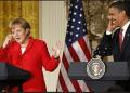 El presidente de EE.UU., Barack Obama, y la canciller de Alemania, Angela Merkel, iniciaron ayer su reunión en la Casa Blanca