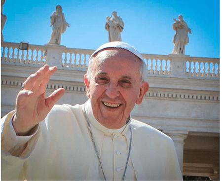 El papa Francisco es de lejos el que tiene más eco de todos los líderes mundiales a través de twitter