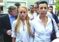 . Lilian Tintori, esposa de López, explicó que la situación que está viviendo la identifica con miles de madres venezolanas que se enfrentan a diario con el retardo procesal.
