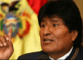 """""""Tan importante ha sido nacionalizar que nos ha liberado de los chantajes del Banco Mundial y del Fondo Monetario Internacional (FMI)"""", incidió Morales"""