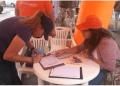Miles de venezolanos descontentos acudieron a los 752 puntos naranjas que estuvieron habilitados a nivel nacional