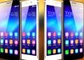 La marca de teléfonos inteligentes Honor, filial del gigante chino Huawei, presentó en Pekín su último modelo, el Honor 6 Plus