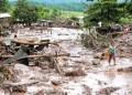 Las inundaciones causadas por el desborde de cuatro ríos de la selva amazónica de Perú, tras las intensas lluvias de los últimos días, dejan hasta el momento 236 familias damnificadas  AGENCIAS