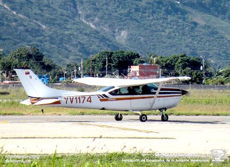 Se encuentra desaparecida una avioneta modelo Cessna 182YV1174 que despegó, el pasado lunes, poco antes de las 8:00 de la mañana del Aeropuerto Internacional Jacinto Lara en Barquisimeto