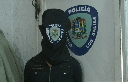 Rosangely Karina Leiva Hernández (19), fue capturada por Polisalias.