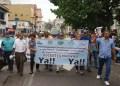 La protesta rechazó desde todo punto la póliza de Seguros Altamira