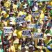 Por segunda vez en un mes, los brasileños han vuelto a salir a la calle a protestar contraDilma Rousseff,su Gobierno y su partido  CORT. EL PAÍS