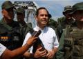 """El gobernador del estado Táchira, José Gregorio Vielma Mora, indicó que es falso que hayan derribado unas casas de familias colombianas a las cuales se les marcó con una """"D"""" de demolición"""