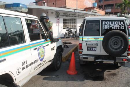 El carro fue encontrado cerca de La Rosaleda