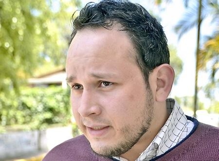 Fabricio Briceño, dirigente estudiantil de la Universidad Simón Rodríguez núcleo Los Teques