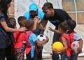 El superastro puertorriqueño de 44 años habló durante una visita a Líbano con UNICEF para reunirse con niños sirios refugiados.