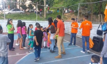 Cientos de niños celebraron su día en actividad organizada por VP- Guaicaipuro.
