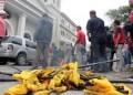 Oficialistas quemaron banderas de Primero Justicia