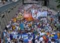 Miles de manifestantes asisten a la Toma de Caracas