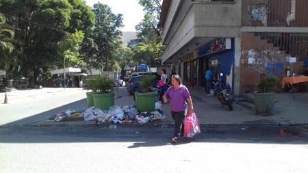 La recolección de la basura es un problema de orden socio-ambiental que afecta a la comunicad de San Pedro de los Altos.