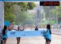 Más de 11 mil corredores se dieron cita este domingo para participar en el Maratón CAF realizado en Caracas, en el que resultó ganador el colombiano José David Cardona, mientras que en femenino el logró fue para la venezolana Zuleima Amaya con un tiempo de2:49:45.