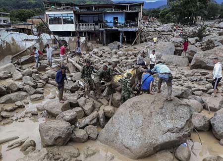 234 muertos y 220 heridos fueron el resultado de la avalancha de la ciudad de Mocoa en Colombia, así lo indicó el último informe facilitado este domingo por la Cruz Roja Colombiana al Canal Institucional.