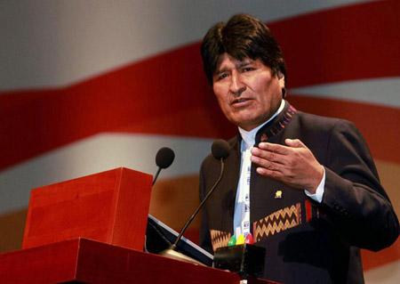El mandatario boliviano se pronunció sobre la situación de Venezuela