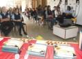 """Durante el encuentro se realizó la actividad de promoción de la lectura """"escritura y papel"""", a cargo del profesor Roberto Borges"""