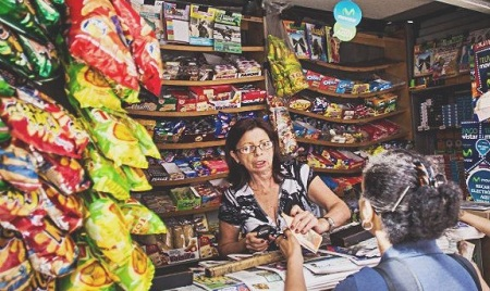 Precios de chucherías suben hasta dos veces por mes. Foto: Deisy Peña