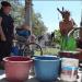 Vecinos de Guaremal no descartan cerrar las vías por fallas en el suministro de agua. Foto: Deisy Peña