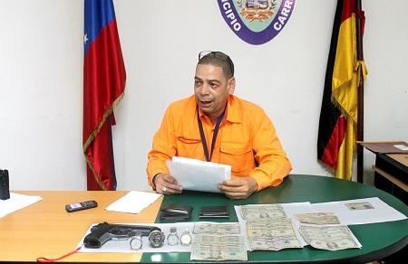 Los detenidos fueron trasladados a la comandancia de Policarrizal.