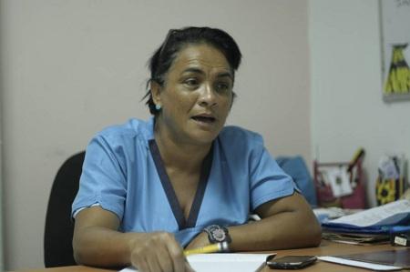 María Auxiliadora González, coordinadora de evaluación Foto: Deysi Peña