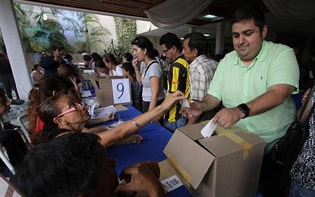 Dirigente políticos de oposición calificaron como éxito proceso de primarias en las que resultó ganador Carlos Ocariz.