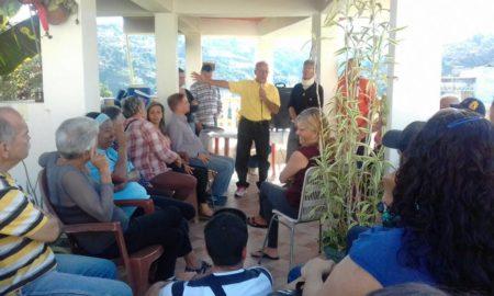 Candidato unitario a la Alcaldía de Guaicaipuro recorrió El Jarillo.