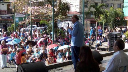 Héctor Constant, candidato del PSUV a la Alcaldía de Los Salias