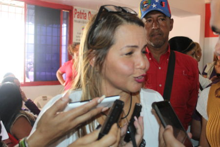 Wisely Álvarez dijo estar lista maquinaria del GPP para la victoria del 10-D