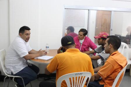 En la reunión de trabajo participó Jorge Mujica, presidente del Frente de Transporte de los Altos Mirandinos
