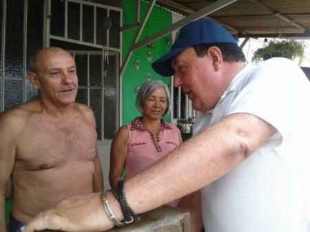 José Luis Rodriguez recorrió Barola Y Potrerito I