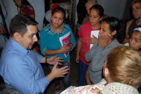 Farith Fraija arrancó despliegue comunitario en Carrizal