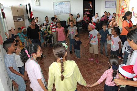Centro Terapéutico para la Vida despidió 2017 con actividades recreativas para los niños
