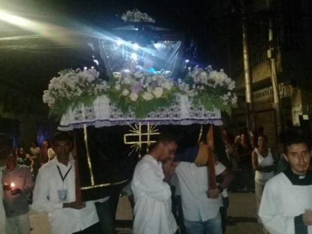 Feligreses mirandinos conmemoraronpasión y muerte de Jesucristo