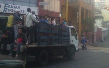 Falta de transporte en la capital mirandina