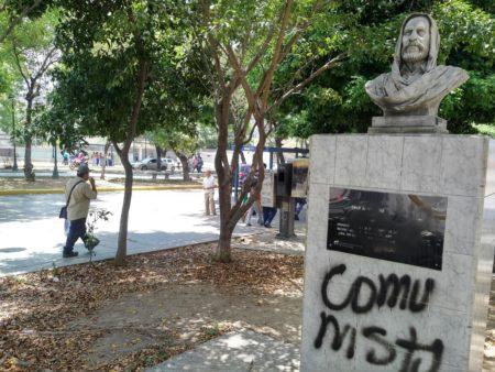 Denuncian que Paseo Los Próceres está en ruinas gracias a mega caso de corrupción
