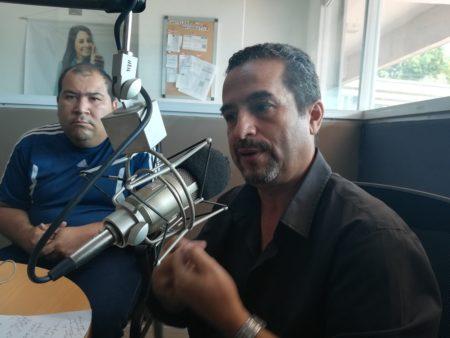 Perdomo participó en el programa de opinión Pola y Murolo a las 12