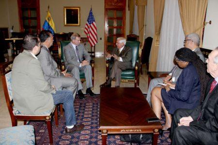 Directiva de la AN se reunió con el Encargado de Negocios de la embajada de EE.UU Christopher Lambert