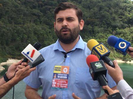 Jesús González, dirigente de Voluntad Popular en el Municipio Guaicaipuro