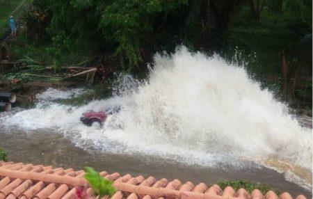 Zona inundada