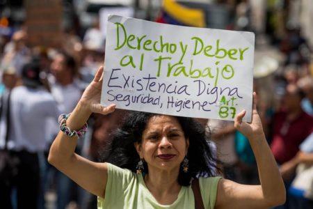Gremios venezolanos irán a consulta para definir paro o huelga general